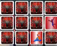 Spider man memory Pókemberes játékok ingyen