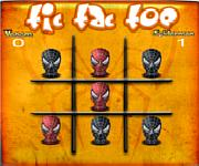 Tic Tac Toe Spiderman online j�t�k